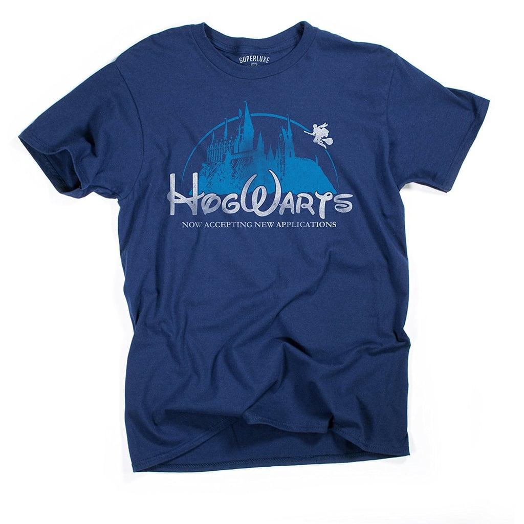 Superluxe Hogwarts Castle Shirt