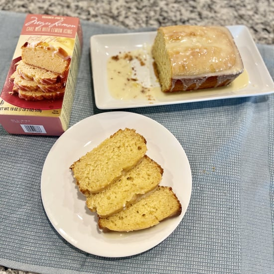 Trader Joe's Meyer Lemon Cake Mix Review