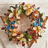 Butterfly Capiz Wreath