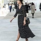 With a Silk Dress