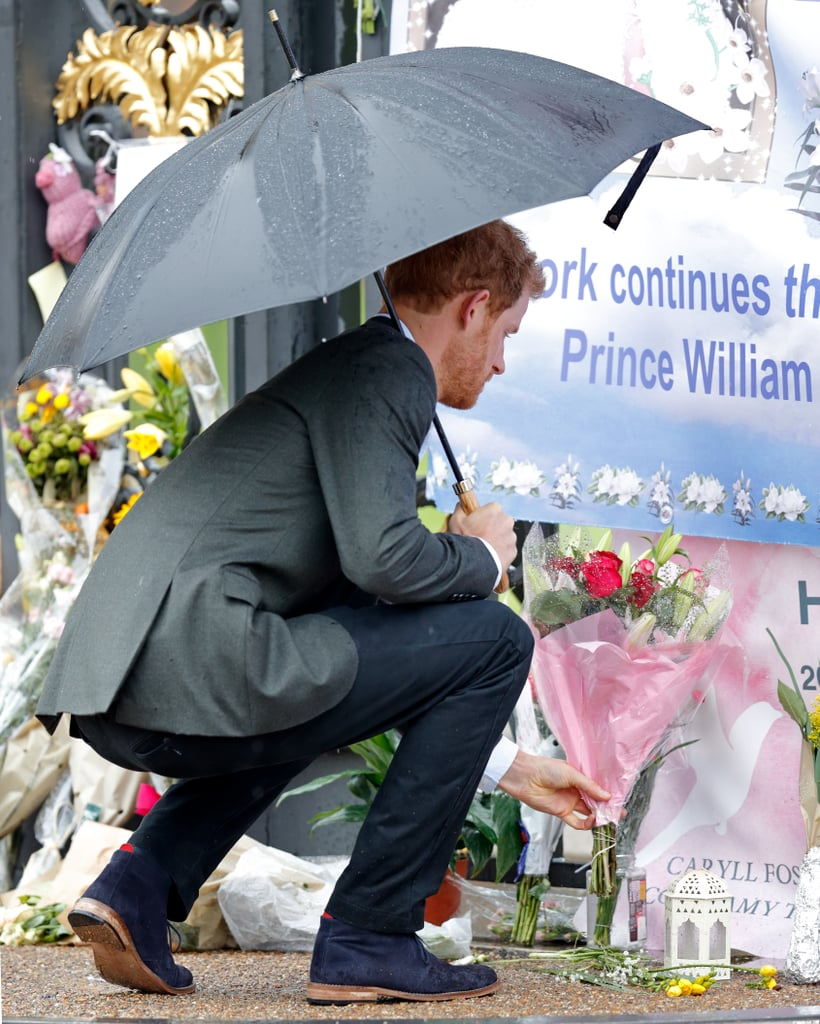 Prince Harry and William honored their mother, Princess Diana, on the eve of the 20th anniversary of her death.