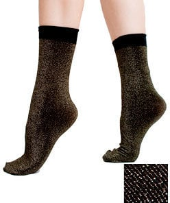 With the holidays rolling around, these American Apparel Sparkle Calf-High Socks ($9) would be a fun buy.