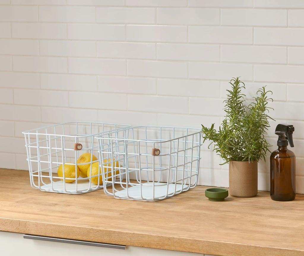 Open Spaces Medium Wire Baskets