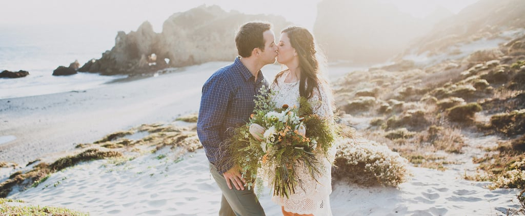 This Beautiful Elopement Only Had 3 Ingredients: the Bride, the Groom, and the Pacific Ocean