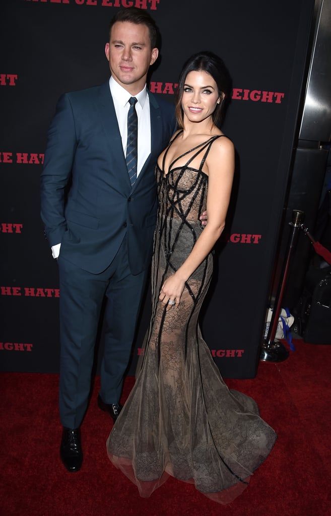 Jenna and Channing channeled Old Hollywood at the LA premiere of The Hateful Eight in December 2015.