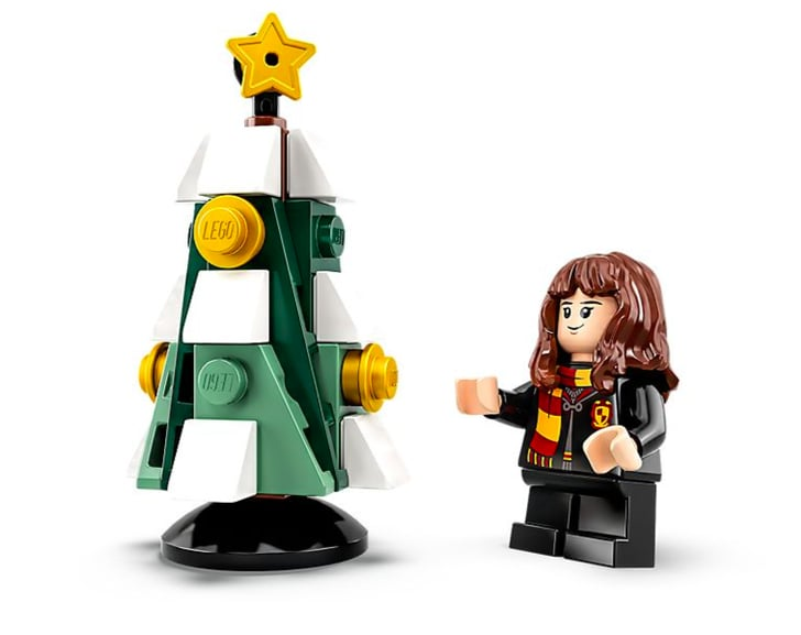 hermione and christmas tree lego harry potter and star. Black Bedroom Furniture Sets. Home Design Ideas