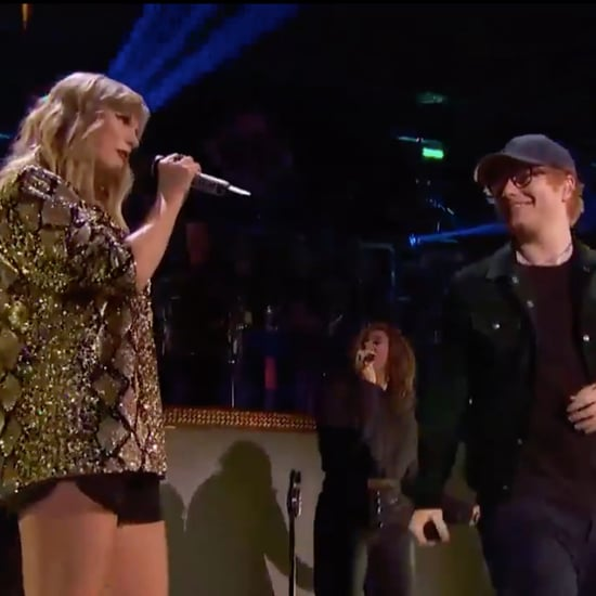 "Taylor Swift and Ed Sheeran Sing ""End Game"" at Jingle Ball"