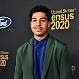Marcus Scribner at the 2020 NAACP Image Awards