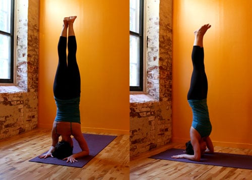 Strike a Yoga Pose: Forearm Headstand