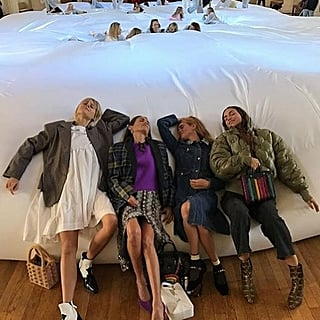 World's Largest Bean Bag at London Fashion Week