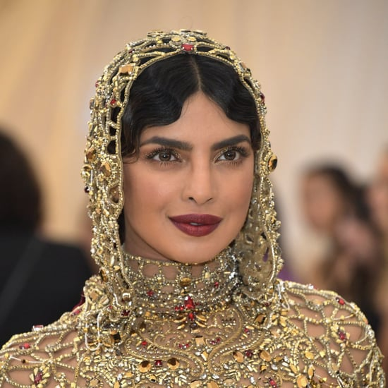 Priyanka Chopra Hair and Makeup at the 2018 Met Gala