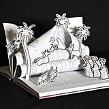 Book-Carved Nativity Set
