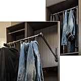 "24"" W Clothes Rack"