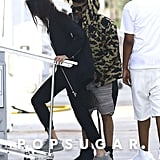 Bella Hadid and The Weeknd in Miami Together December 2015