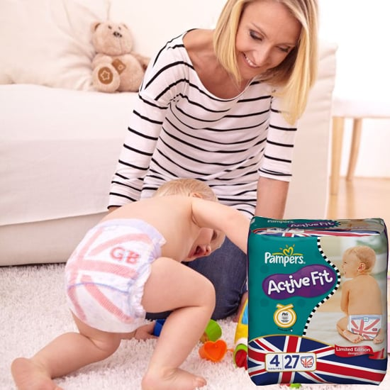 Pampers Team Great Britain Diapers