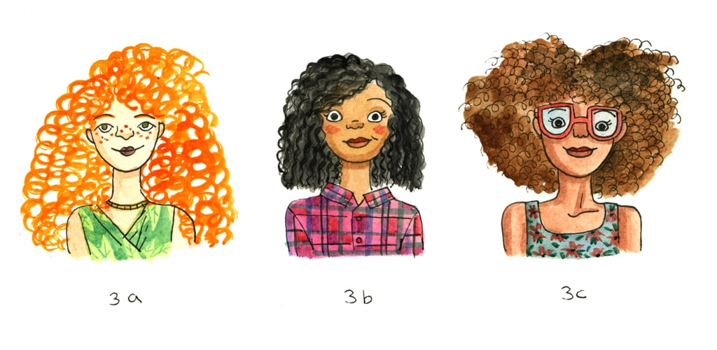 Type 3: Curly Hair