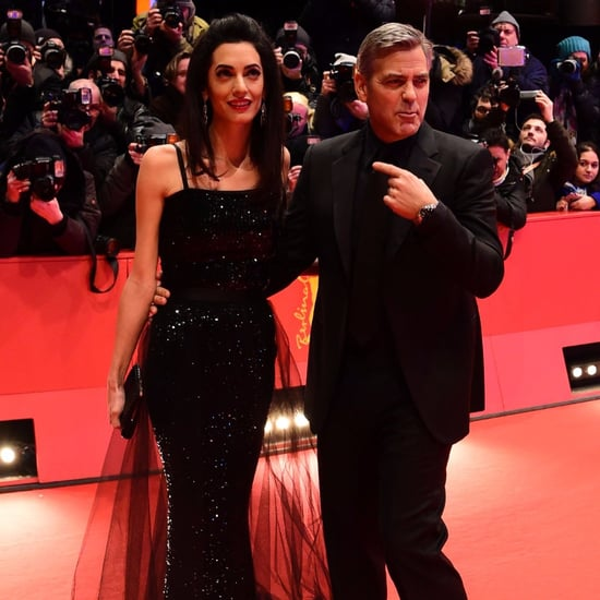George and Amal Clooney at Berlinale Film Festival 2016