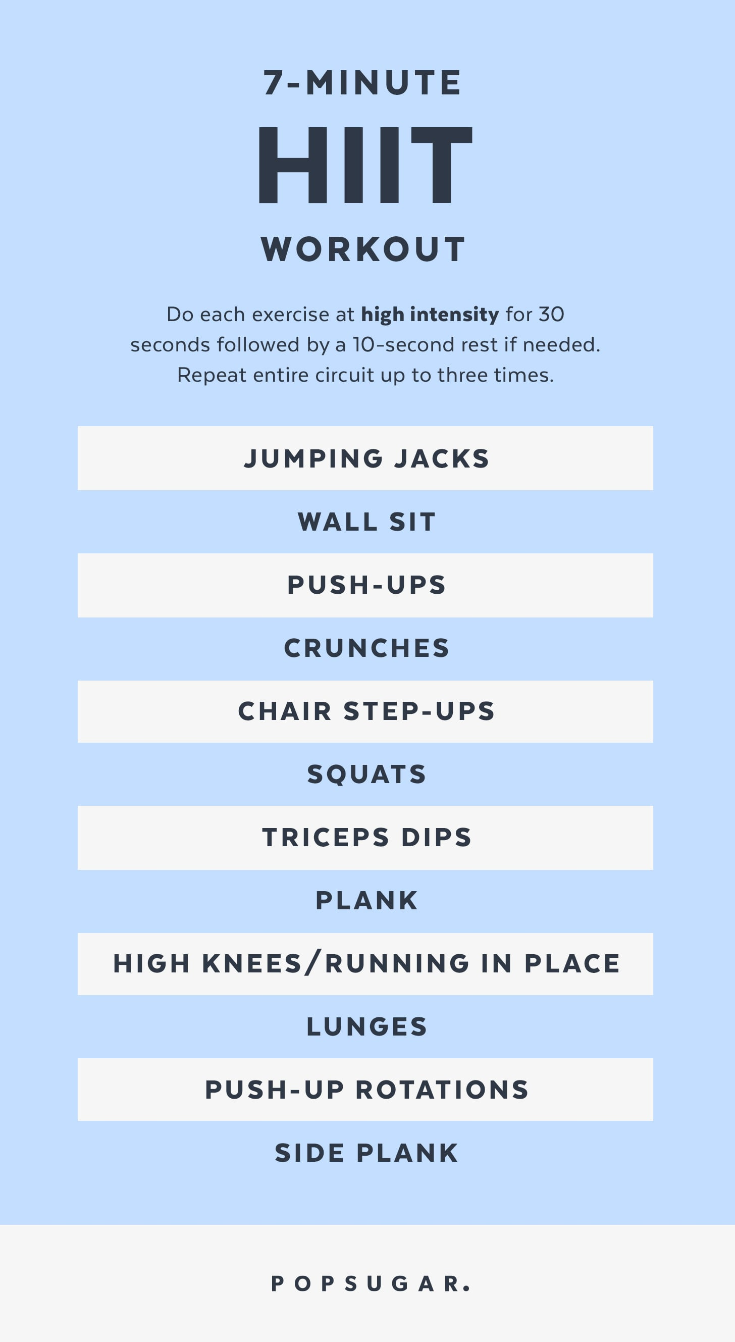 This is a graphic of Printable Workouts at Home in free printable daily