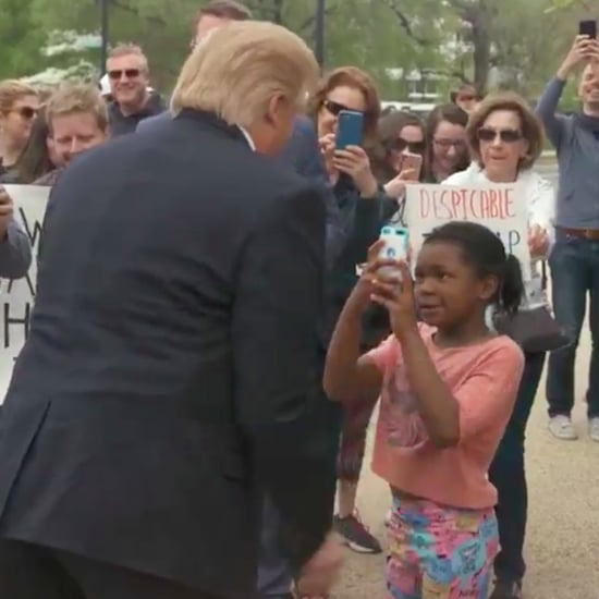 Little Girl Calls Trump a Disgrace Video