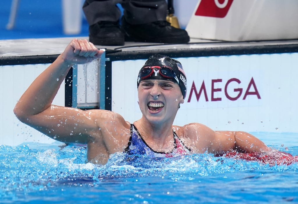 Katie Ledecky Makes History, Wins Gold in 1500m Freestyle