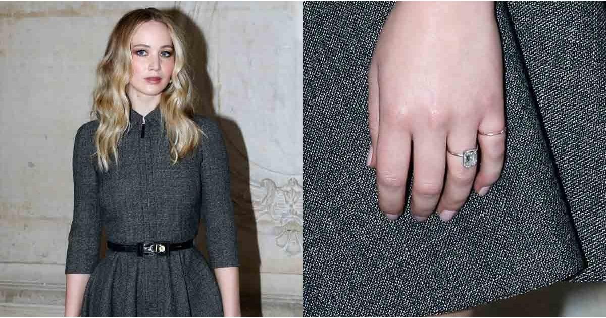 Jennifer Lawrence's Engagement Ring | POPSUGAR Fashion - photo #8