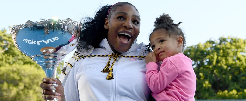 Yep, Serena Williams Signed Olympia Up For Tennis Lessons