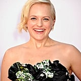 Elisabeth Moss Goes Mad For Dolce & Gabbana Florals at the Emmys
