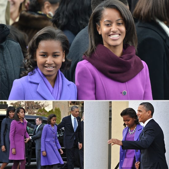Malia and Sasha Obama's Classic Inaugural Looks