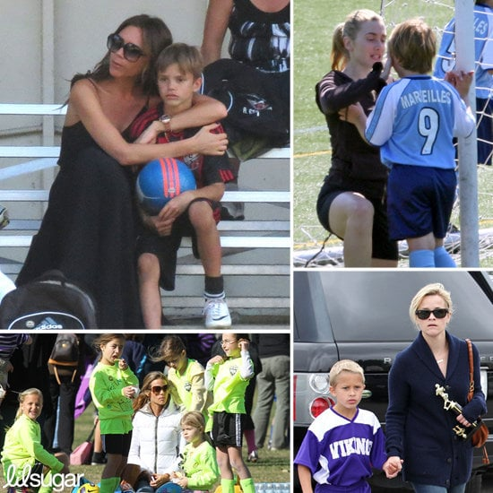 Celeb Moms With Kids Who Play Soccer
