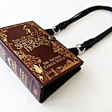Sherlock Book Purse ($48)
