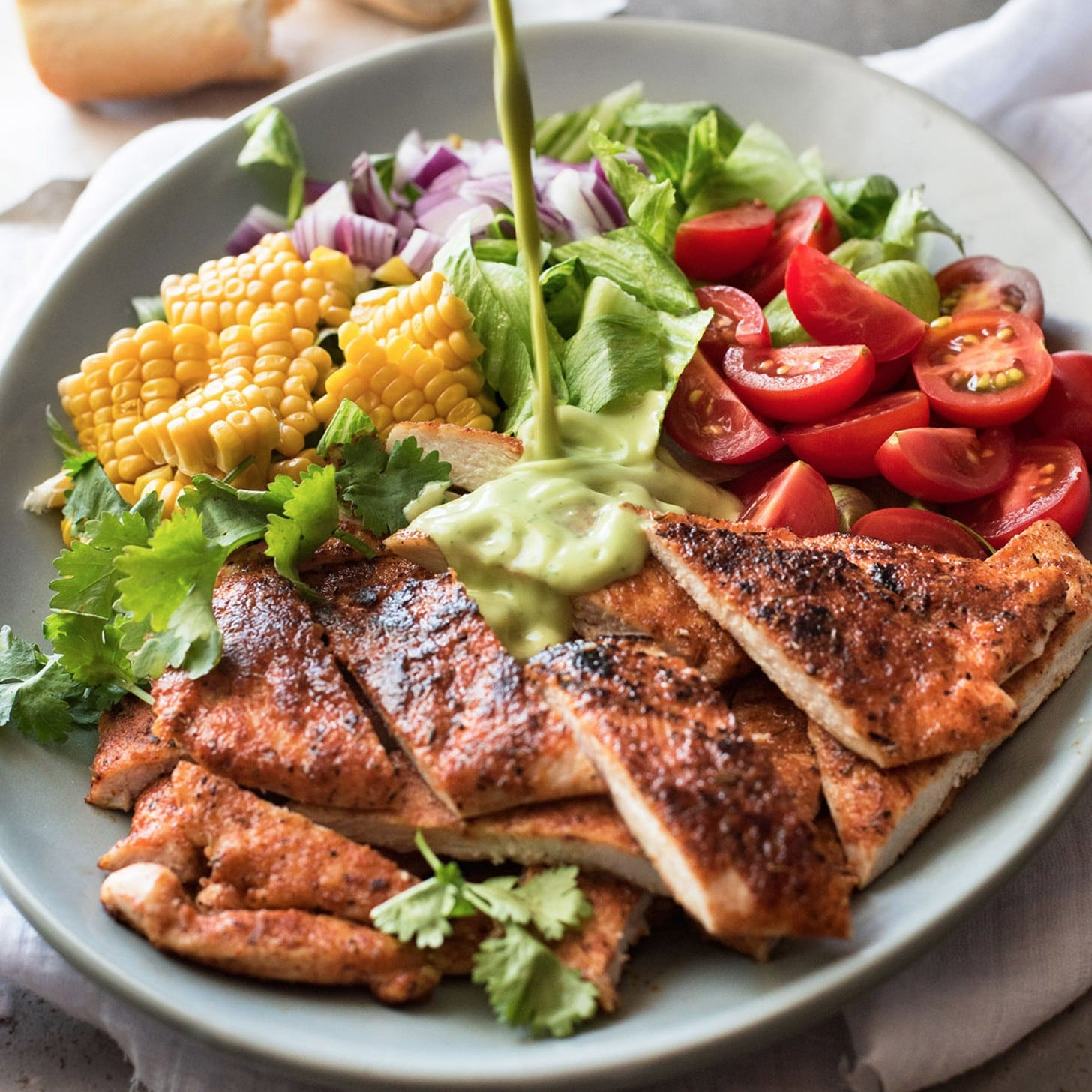 Healthy Salad Recipes With Chicken