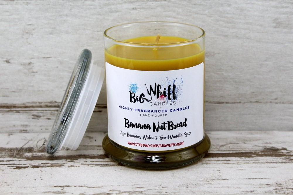 Banana nut bread candle ($10)