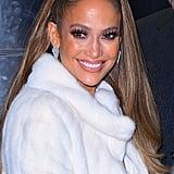 Jennifer Lopez With a Voluminous Ponytail