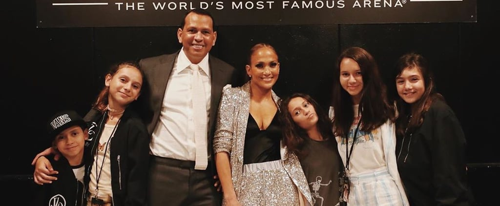 Jennifer Lopez and Alex Rodriguez on Their Blended Family