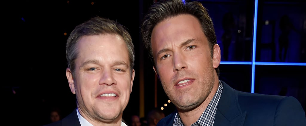 Ben Affleck and Matt Damon Reunite at the Guys Choice Awards, and Our Hearts Can't Handle It