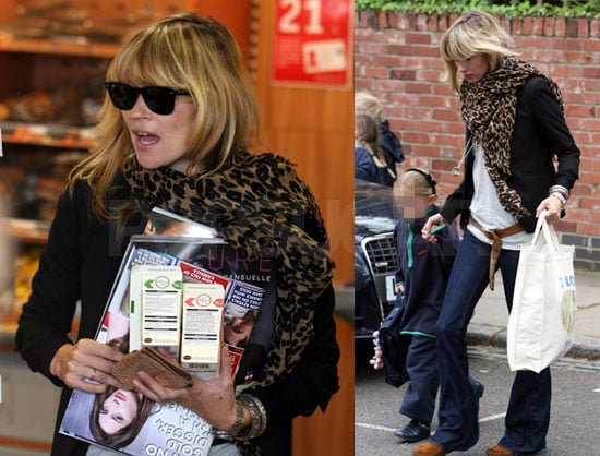 Kate Moss and Lila Hack Go to the Gas Station