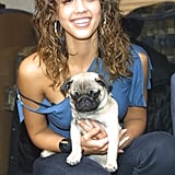 Jessica Alba With Scrunched Hair 2002