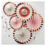 Ginger Ray Rose Gold Foiled Floral Fan