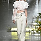 The outfit first made its appearance on the Rodarte catwalk on Sept. 13.