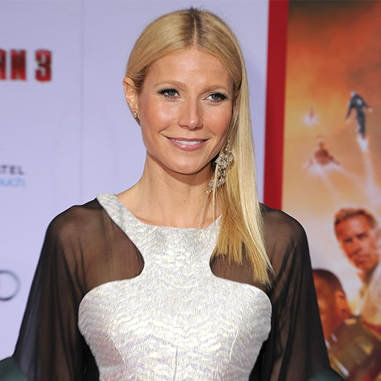 Gwyneth Paltrow in See-Through Dress at Iron Man 3 Premiere