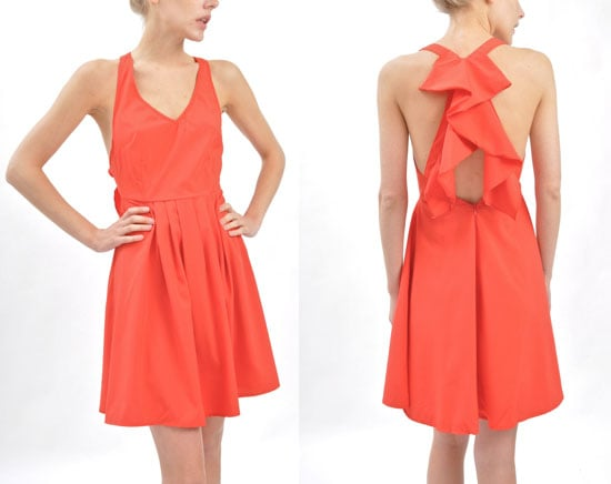 """""""I love everything about this dress, especially the romantic cascading ruffles on the back. It's a great dress for Summer parties and would look gorgeous with flat sandals on a warm night."""" — Brittney Stephens, assistant editor  Ya Scarlet Ruffle-Back Dress ($45)"""