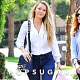 Forget Blake Lively's Fancy Accessories — Her Jeans Are $40 and Fabulous