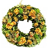 Golden Yellow Wreath ($123)