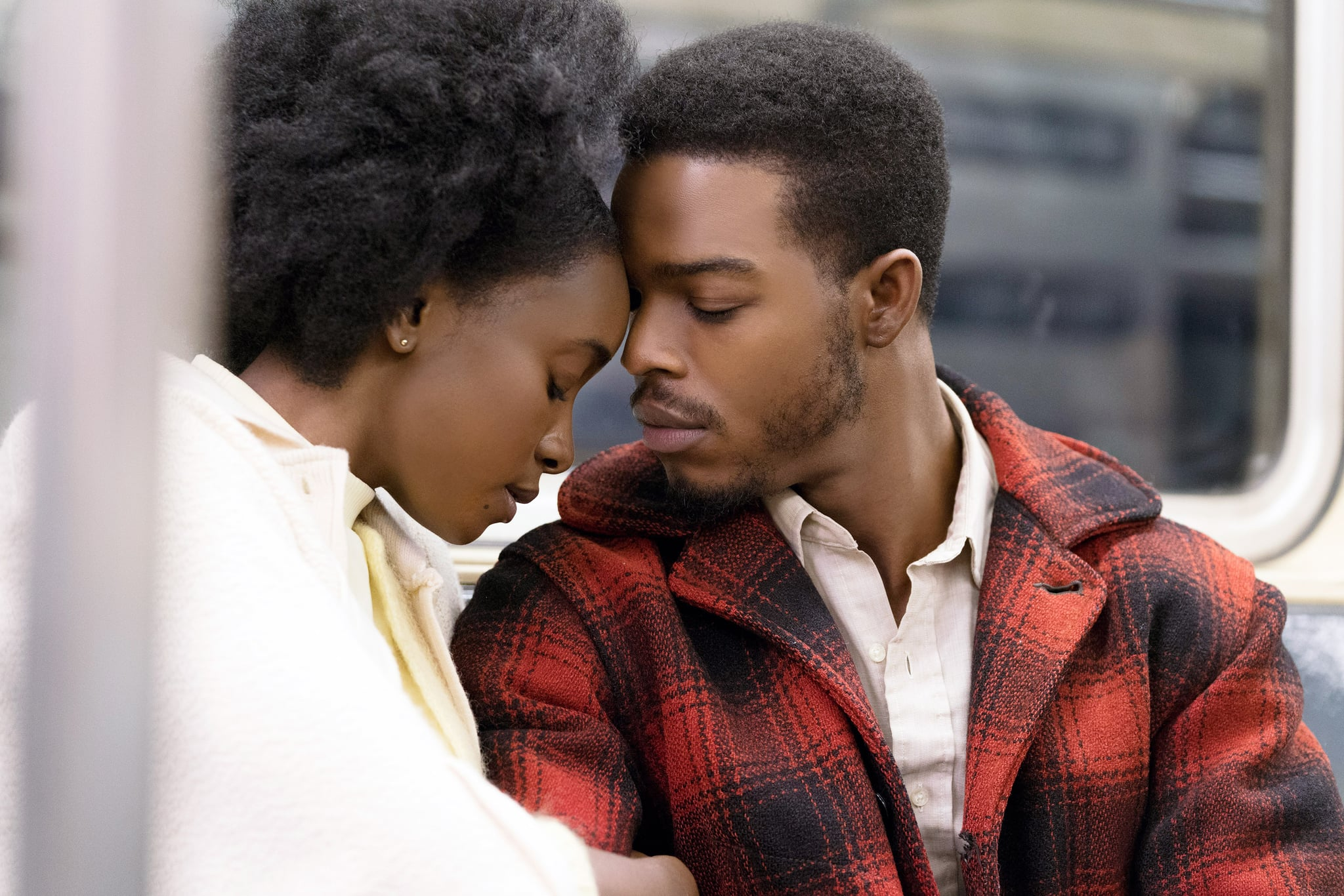 IF BEALE STREET COULD TALK, from left: KiKi Layne, Stephan James, 2018. ph: Tatum Mangus / Annapurna Pictures /Courtesy Everett Collection