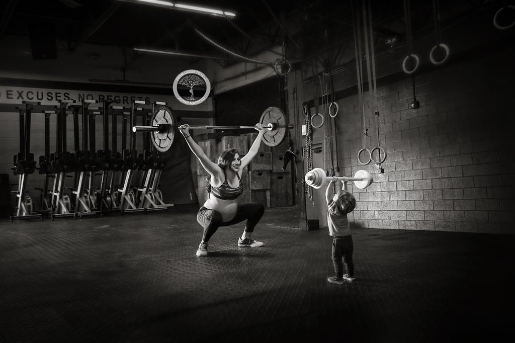 Mom's CrossFit Maternity Photos