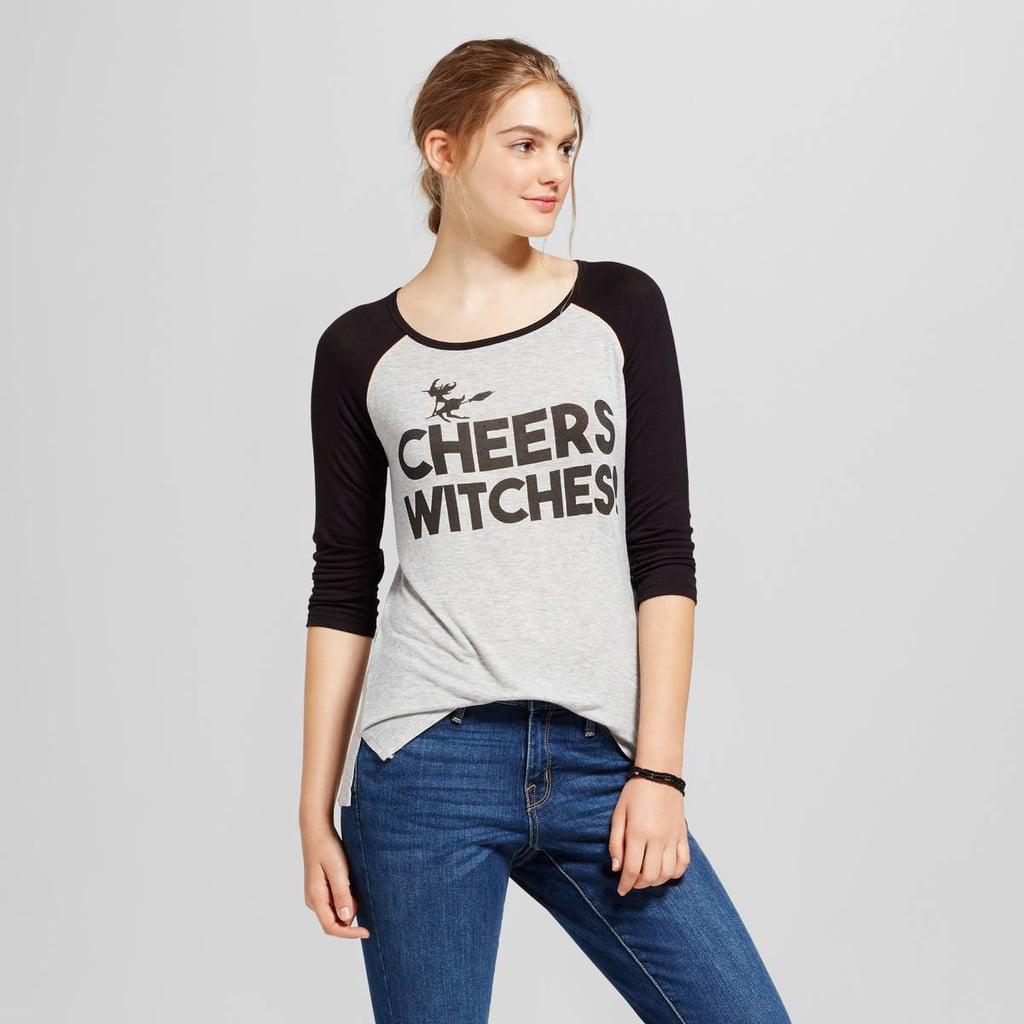 Zoe+Liv Cheers Witches Graphic Raglan