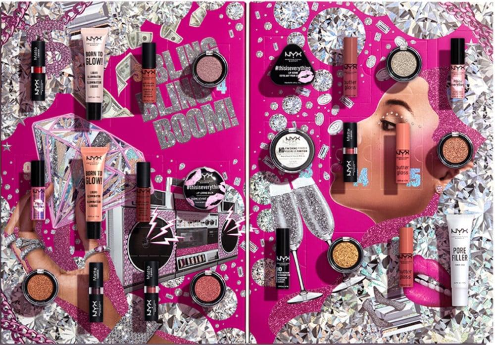 NYX Professional Makeup Diamonds & Ice, Please! Holiday Countdown Advent Calendar