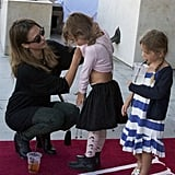 Jessica Alba spent time with Honor on a playdate in LA.