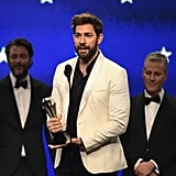 John Krasinski Speech at 2019 Critics's Choice Awards Video