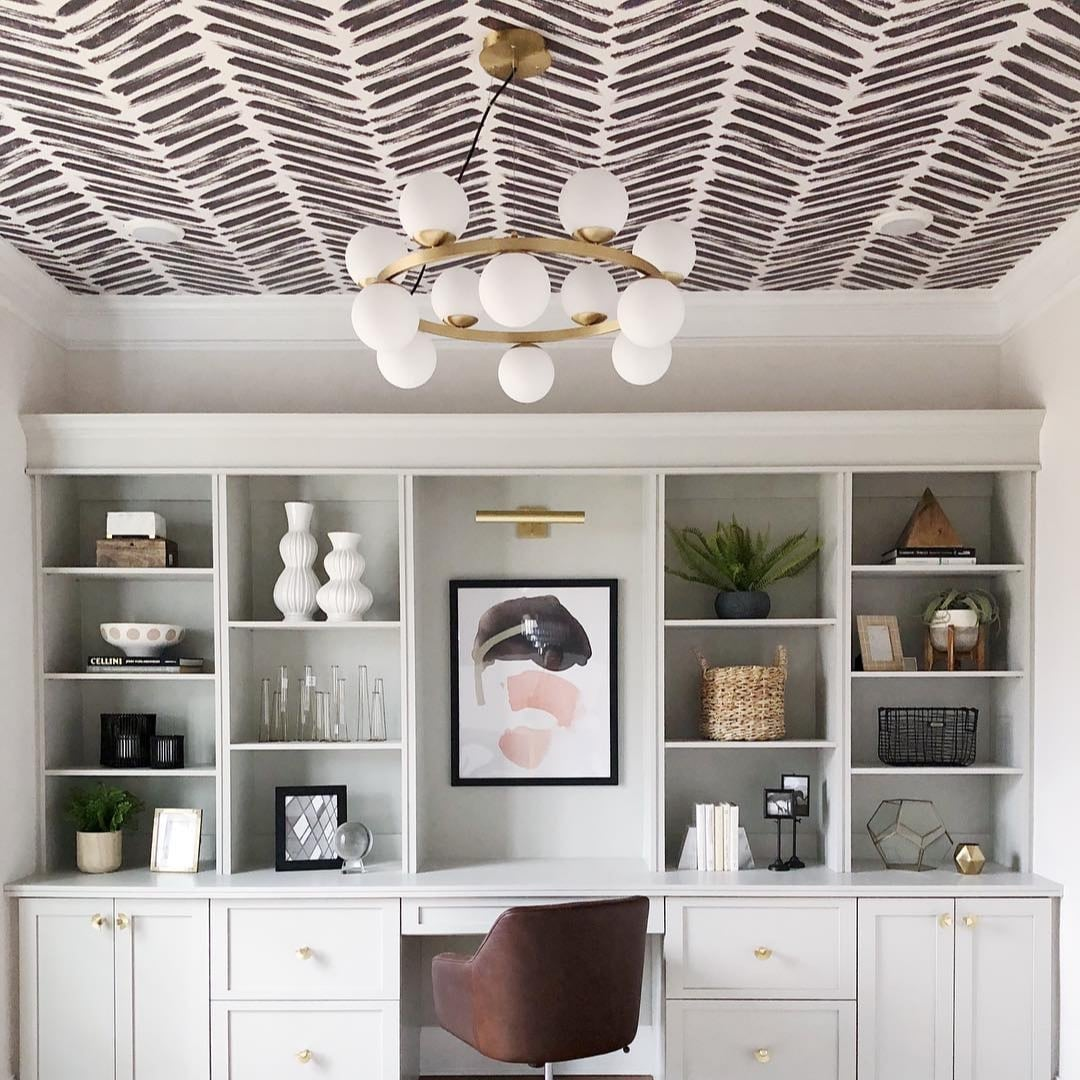 Ceiling Wallpaper Ideas | POPSUGAR Home